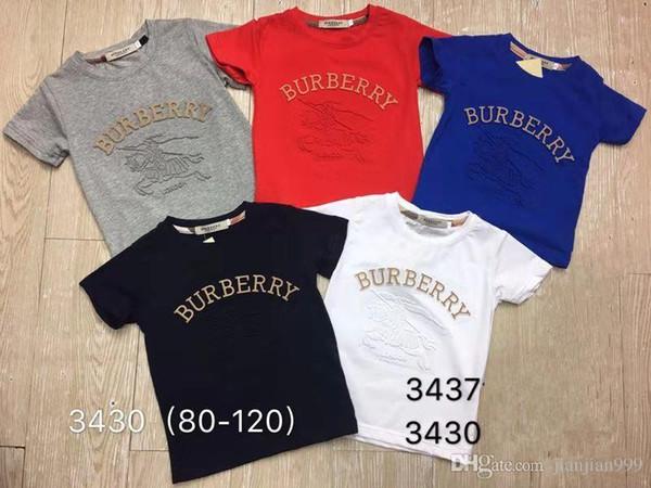 Designer neue junge hochwertige brief muster baumwolle kurzarm T-shirt schweißabsorbierend atmungsaktiv anti-falten explosion modelle männliche 3437 #