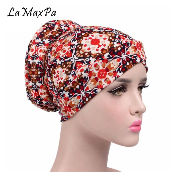 LaMaxPa Soft Hijab For Women Stretch Cotton Head Scarf Femme Elegant Hijabs Mujer Breathable Head Scarves Lady Noble Scarf