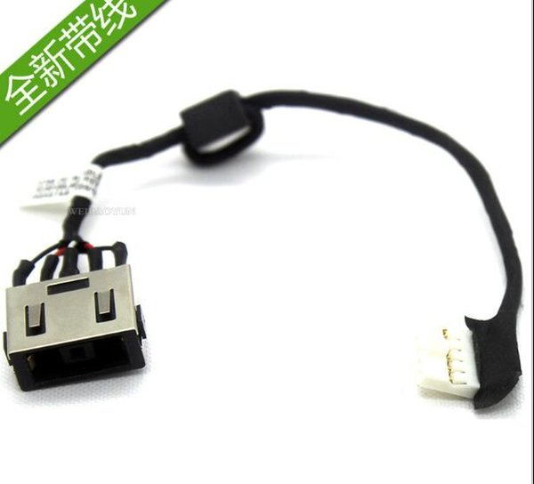 Hakiki Orijinal DC Jack Kablo ile lenovo ideapad G70-70 G70-80 dizüstü ACLU1 DC KABLOSU DC30100LF00 DC Güç jakı kablosu