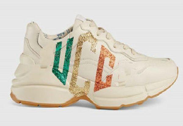 Rhyton Designer Boots Zapatos de lujo zapatos de cuero de diseño zapatos zapatos de papi botas de lujo zapatos de cuero geninue tamaño us5-us10 con caja recept