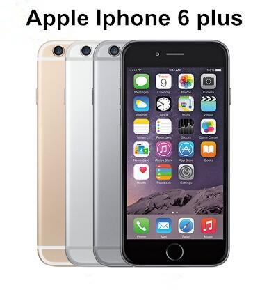 Original Apple iPhone 6 Plus Unlocked Phone 5.5 inches 16GB 64GB Dual Core 4G LTE refurbished smartphone