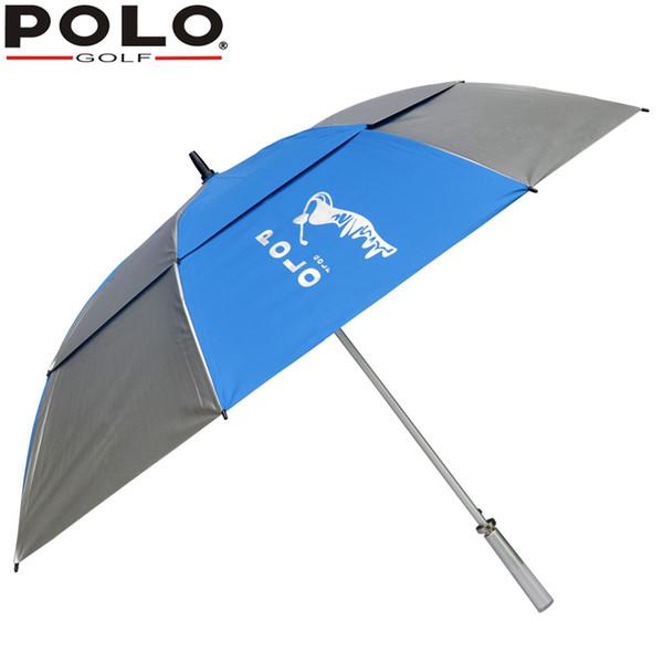 Satın Al Marka Polo Golf şemsiye Siyah Mavi Pembe Gümüş Yeni