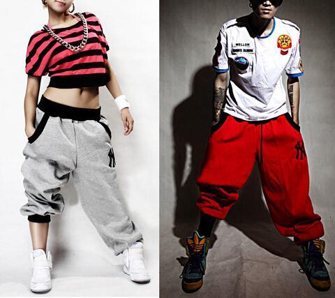 Pantalones para mujer para hombre Pantalones Casual Harem Baggy Hip Hop Baile Sudadera Diseño de moda