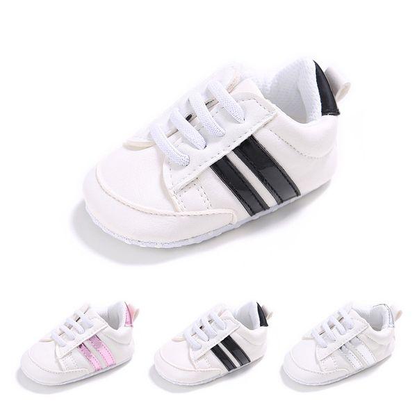 Clássico Bebê Meninos Sapatilhas Sapatos Da Criança mocassins Primeiros Caminhantes Fundo Macio Anti-slip sapatos infantis Para Crianças Dos Miúdos Meninas