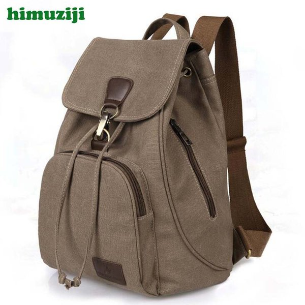 Fashion Canvas Backpacks Retro Style Large Capacity casual Women Backpack Students School Backpack bolsas