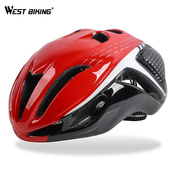 WEST BIKING Bike Helmet Ultralight-Molded Safety Caps Mountain Bikes MTB Cycling Helmet Casco Ciclismo 10 Colors Bicycle Helmet Y1892908
