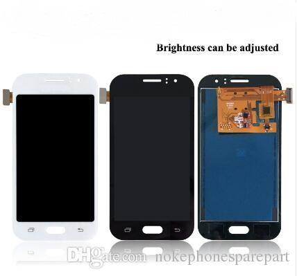 Per Samsung Galaxy J1 Ace J110 SM-J110F J110H J110FM Display LCD Touch Screen Digitizer Assembly Può essere regolare la luminosità dello schermo