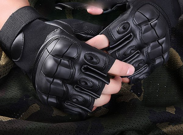 Full finger outdoor sport gloves hawk tactical protection cycling training army fans special forces Superfine fiber glove 020