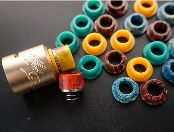 Epoxy Resin 510 to 810 Adapter Converter 510 Adaptor to TFV8 Goon Mouthpiece For Tank Atomizer Drip Tips Connector Vape eCig