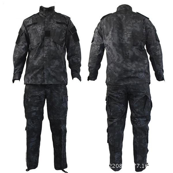 Высокое качество камуфляж армии США равномерное костюм CP ACU цифровой камуфляж Combat тактический камуфляж униформа BDU тип