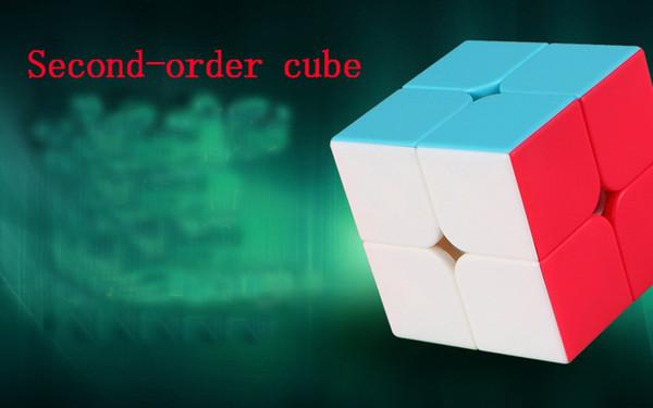 Puzzle Cubo Arte fantastica Secondo ordine Cubo di Rubik Set Secondo gioco Smart Toy Racing Blind Twist Professional