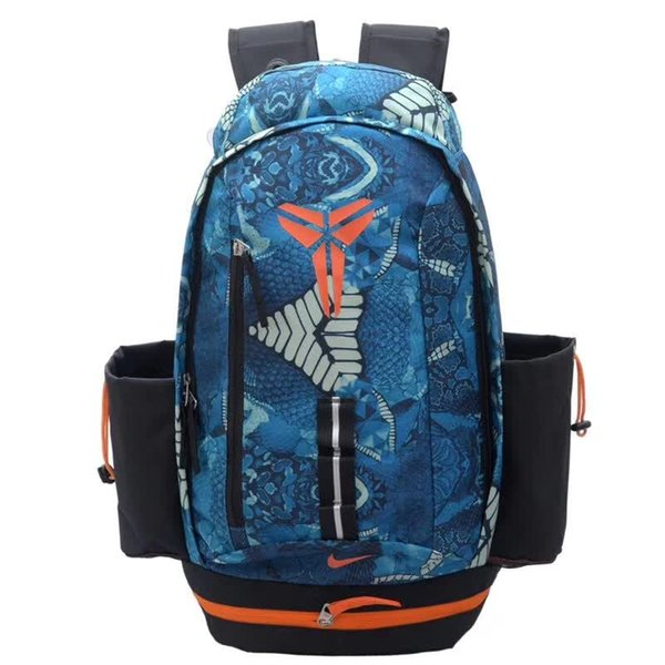 Wholesale-Real KOBE bags football soccer back pack outdoor sports bag soccer fans souvenir bag backpack sport bags for men