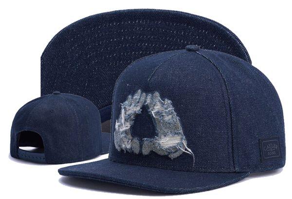 Cayler Sons Ayarlanabilir Snapback Beyzbol Kapaklar şapkalar, 2018 yeni Sıcak Noel Satış yağmur yapmak Lanet 'sorun Erkek Siyah Beyzbol Şapkası şapka