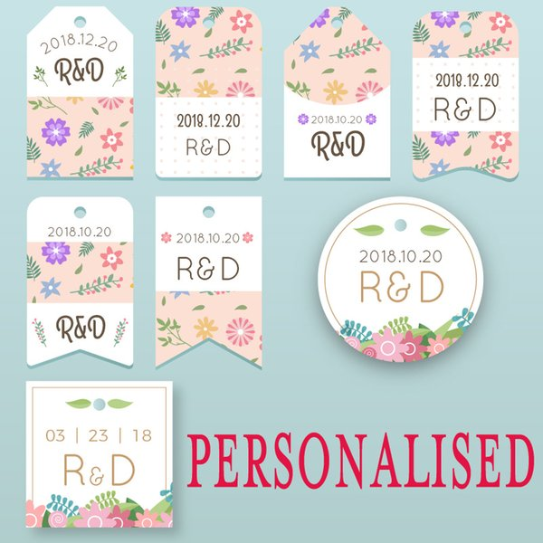 Customized Personalized Stickers Wedding Birthday Party Favors Candy Boxes Labels Tags Not Adhesive Hollywood Party Decorations Hollywood Party