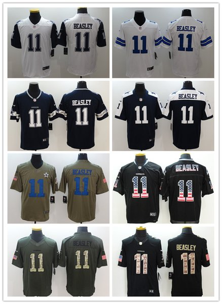 31b1aa35c8c 2018-2019 Men 11 Cole Beasley Dallas Cowboys Football Jerseys 100% Stitched  Embroidery Cole