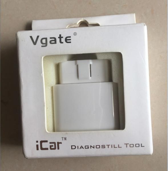 Lettore di OBD2 originale OBDII Vgate iCar ELM327 Bluetooth adattatore strumento diagnostico automatico per Android e PC