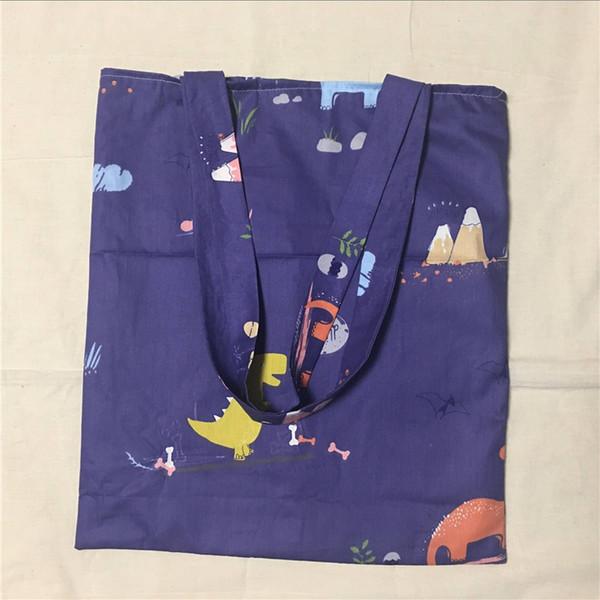 YILE ha actualizado la compra de lino de algodón, bolso de mano, bolsa de transporte, bolso ecológico reutilizable, impresión de rama de olivo verde L017