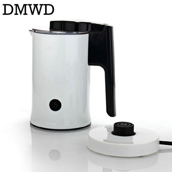 DMWD Electric Milk bubble machine automatic Milk Frother Foamer cup heat latte hot Foam Maker warmer DIY Fancy coffee 220V-240V