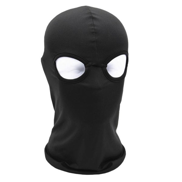9c5f5ce1111 2 Hole Full Face Mask Balaclava Hat Motorcycle Bike Hunting Cycling Cap Ski  Military Tactical Sport