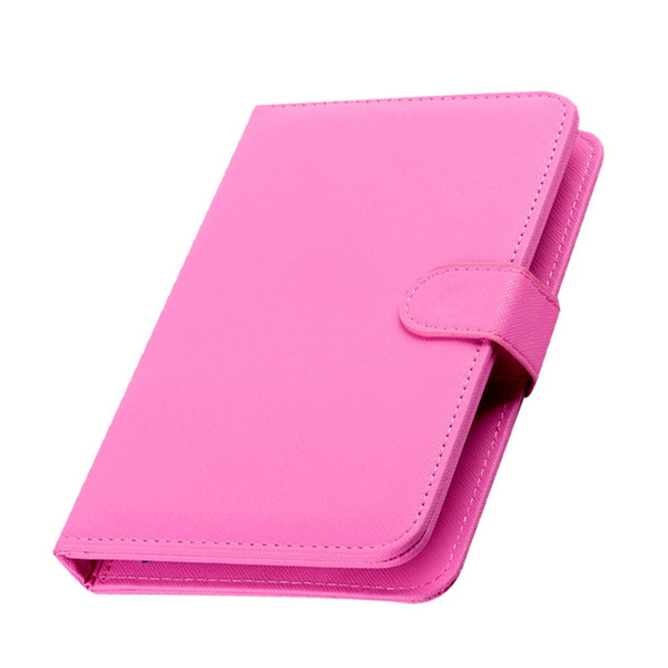 Mini Wired Keyboard General Wired Keyboard Flip Holster Case For Andriod Mobile Phone 4.2''-6.8'' Wired for Tablet Laptop PC