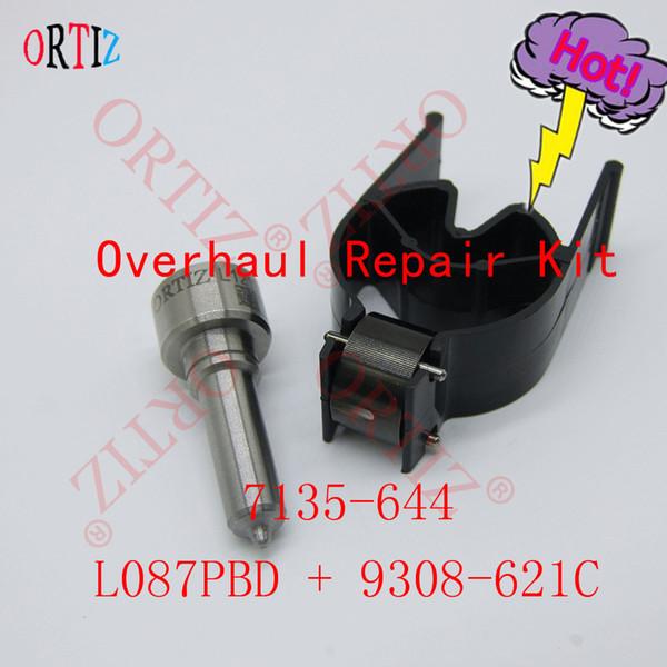 ORTIZ Dieselauto Reparatursatz 7135-644 Common Rail L087PBD, 9308z621C 9308 621C, 28440421 Steuerventilsatz für Einspritzventil