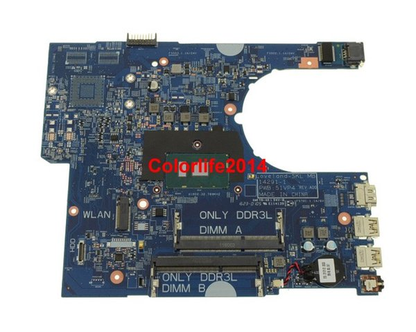 best selling for Dell Latitude 3470 3570 YKP8M CN-0YKP8M 51WP4 Laptop Motherboard Mainboard Working perfect