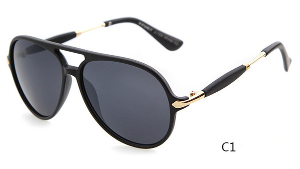 top popular 2018 Hot brand Fashion design sunglasses new Sunglasses Retro Classic sunglasses UV400 anti-UV grade wholesale free shipping 2019