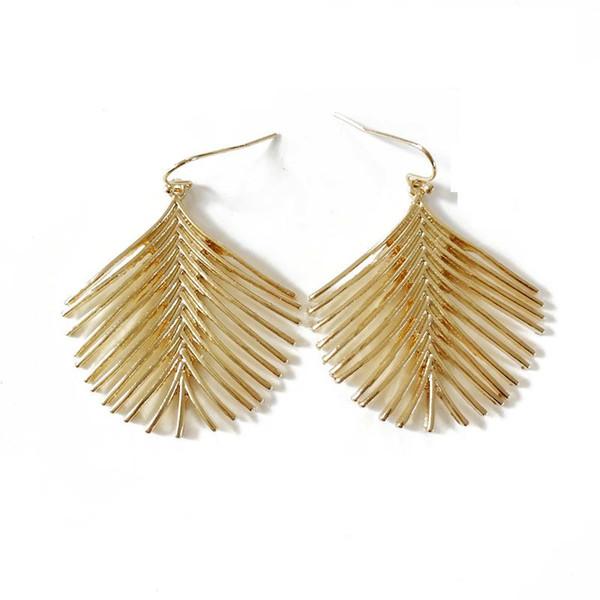 best selling Free Shipping Filigree Alloy Fishbones Elegant Fashion Trendy Popular Hot Sale Earring, Sweet New Design Earring