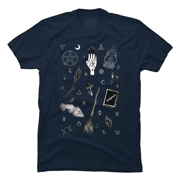 Lvtianran Men's Witchy Funny Graphic T Shirt Men Adult Slim Fit T-shirt S - Xxxl Brand Clothes Summer 2018