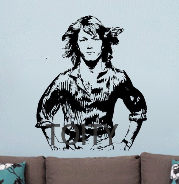 Andy Gibbs Wall Vinyl Sticker Poster English Singer Decal Bee Gees Brother Art Decor Bar Club Dorm Home BedRoom Inspired Mural