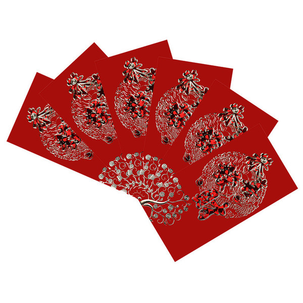 9x17cm chinese new year red envelope lucky red envelope wedding red envelope