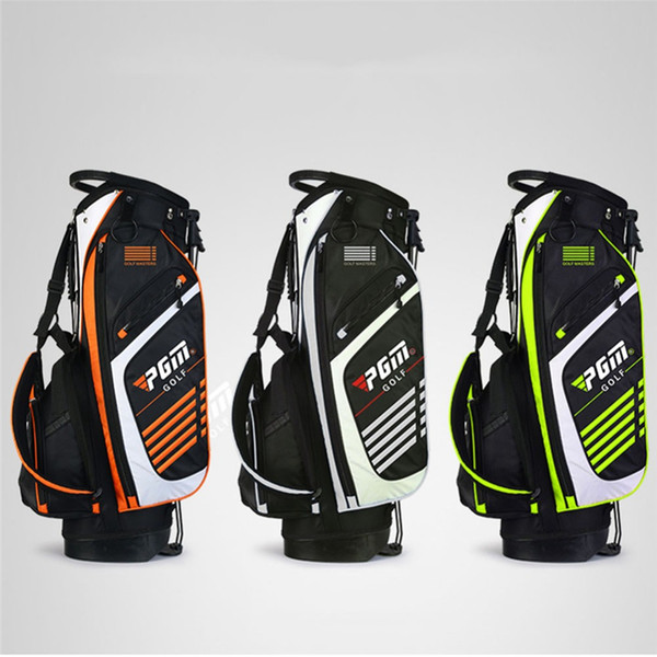Pgm Portable Golf Stand Bag Golf Bags Men Women Waterproof Club Set Bag With Stand 14 Sockets Outdoor Sport Cover D0069