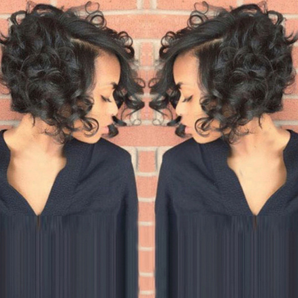 European And American Wig Female Blacks'
