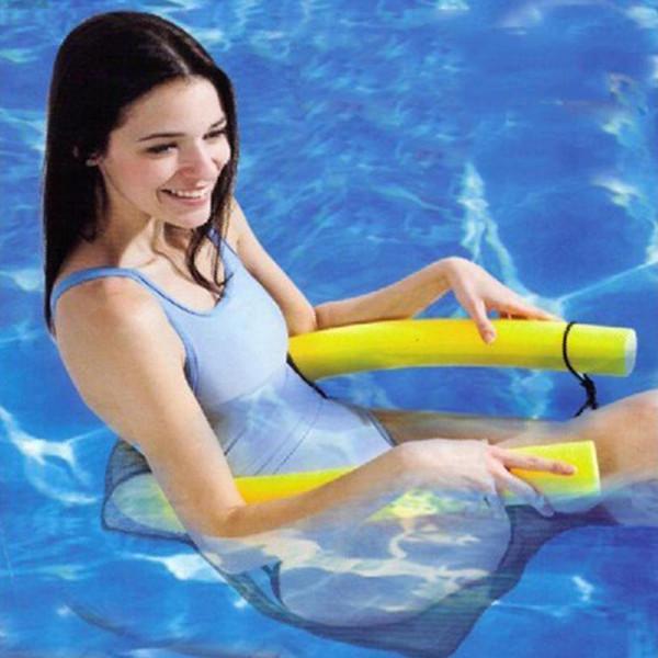 2017 Los nuevos asientos de la piscina de la silla flotante de la piscina del color brillante de la novedad asombran la silla flotante de la tallarín de la piscina de la silla de la silla al por mayor