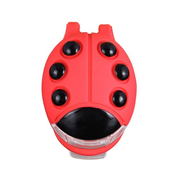 1pcs Waterproof Mountain Bike Beetle Light Cycling Beetle Warning Mini lights Front Rear Tail Lamp Bicycle light