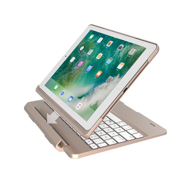 clamshell keyboard Hybrid Tablet Case ABS dustproof 9.7inch Cover For ipad ipadpro ipadair2 ipad air 2017 F02