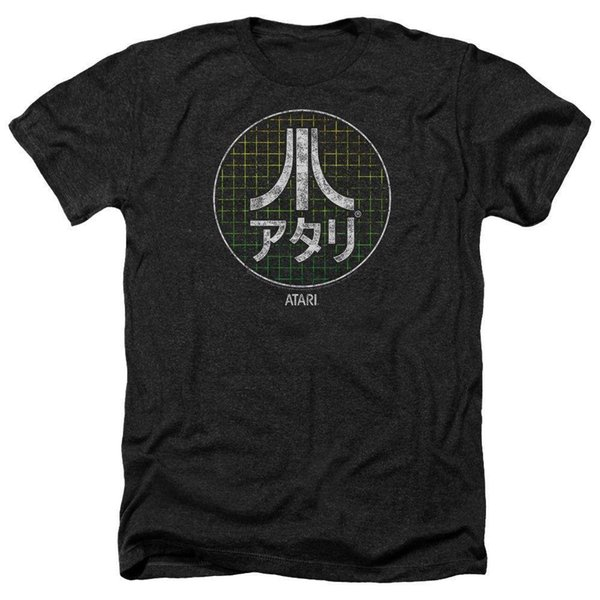 T-Shirts Size S-2XL New Authentic Atari Japanese Grid Heather Mens T-Shirt Mens 2018 fashion Brand T Shirt O-Neck