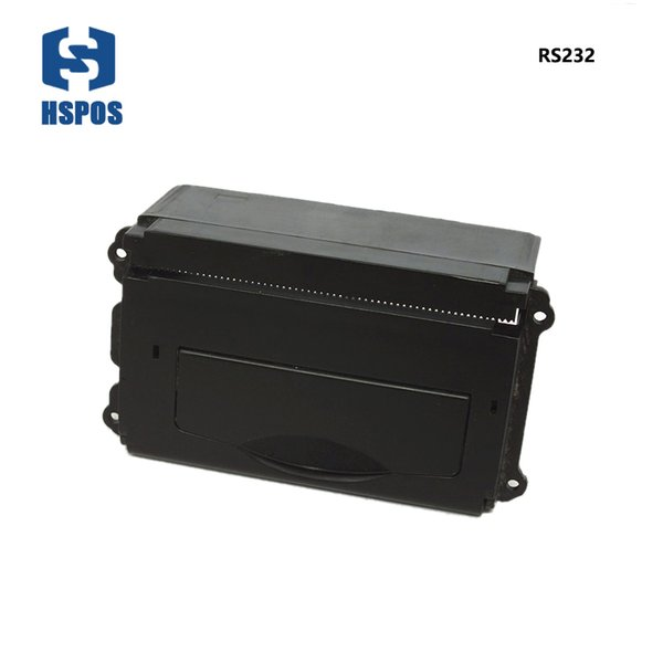 Low noise 58mm TTL DC 9V receipt thermal Panel Printer support Max.22MM paper roll used in supermarket or taxi