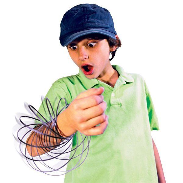 best selling Stainless Steel Metal Flow Ring Arm Slinky Toroflux Amazing Flow Bracelet Magic Fidget Dynamic Flow Rainbow Ring Decompression Toys Gifts
