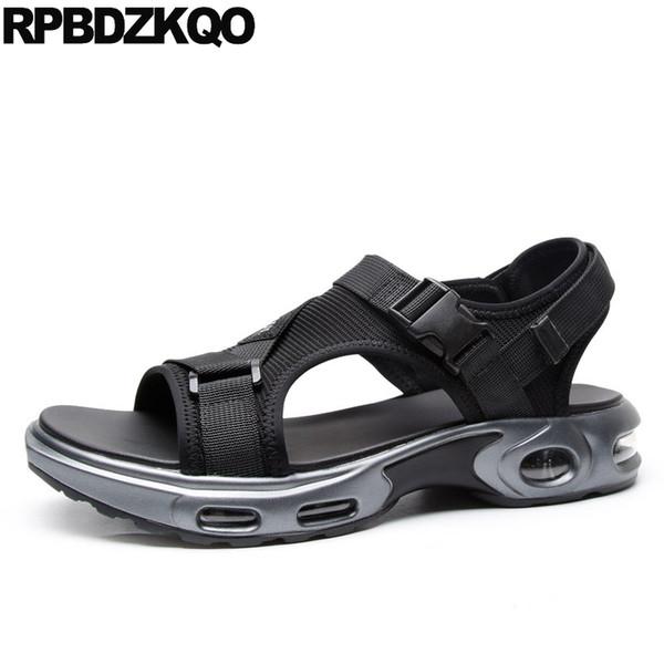 Turnschuhe Strand Schuhe elastische native Männer Sport Plattform atmungsaktiv schwarz wasserdicht Herren Sandalen 2018 Sommer outdoor hohe Qualität