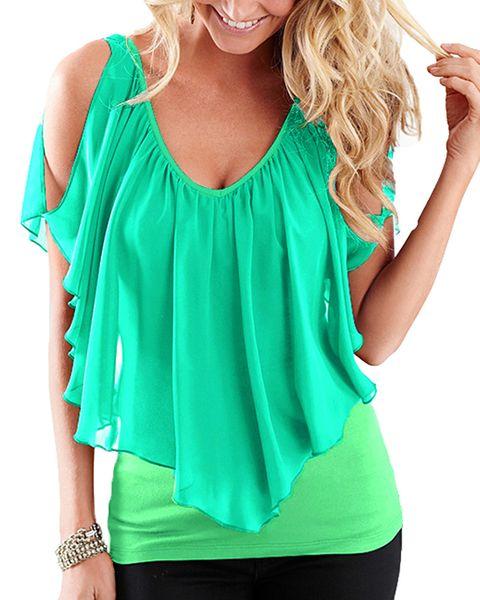 Summer Sexy Plus Size 3xl 4xl 5xl T-Shirt Women Tshirt Oversized T Shirt V Neck Vest Tank Ruffle Tops Female Tunic Tee Shirt Hot
