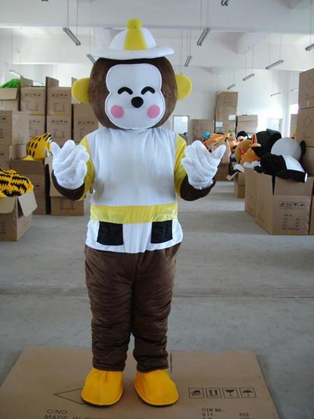 2018 Factory sale hot Mascot Costume monkey Halloween Christmas Birthday Character Costume Fancy Dress