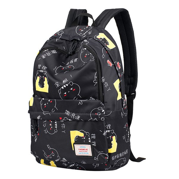 f95ab4366fd1 Star Backpack Middle School Student Backpack High School Female Casual  Shoulder Bag Literary Printing Small Fresh Style Swiss Backpack Laptop  Rucksack ...