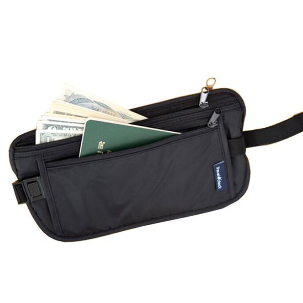 Waist Bag Unisex Waist Pack Money Purse Cards Passport Holder Belt Tickets Travel Bag Pouch