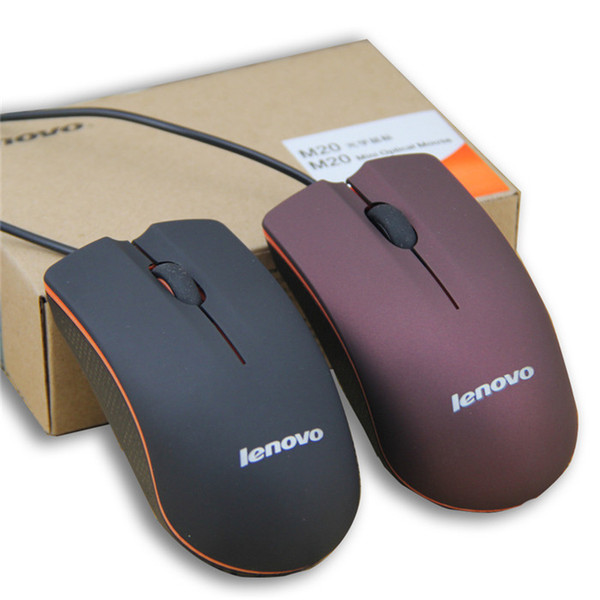 best selling Etmakit 2017 Grind Arenaceous For Lenovo M20 Wired Usb Gaming Mouse Lovely Cute Optical Mice For Compute