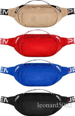 18SS Waist Bag 3M 44th Sup Unisex Fanny Pack Fashion Waist Men Canvas Hip-Hop Belt Bag Men Messenger Bags 17AW Small Shoulder Bag 3M New