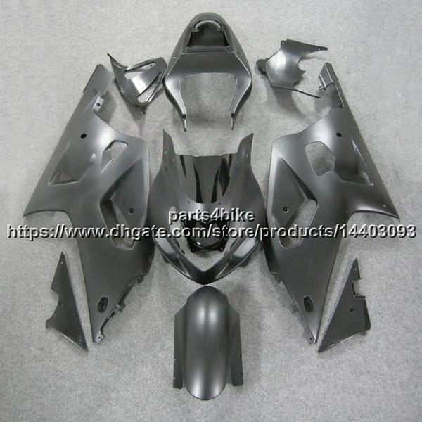 5Gifts + Personalizado ABS Fosco preto brilhante Carenagem Para Suzuki GSX-R600750 2001 2002 2003 GSXR 600 R750 K1 carroçaria kit de plástico da motocicleta