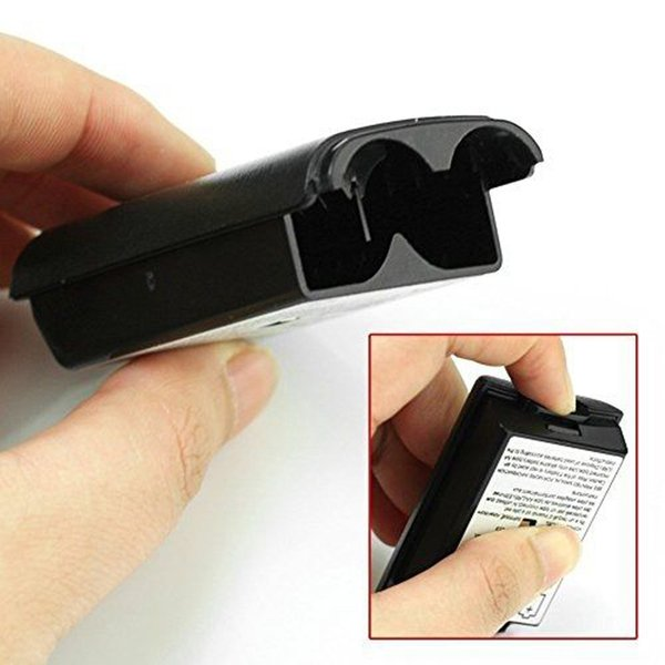 new arrival Battery Pack Cover Shell Shield Case Kit for Xbox 360 Wireless Controller Repair Part