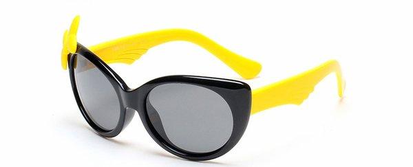 schwarzer Rahmen + gelb