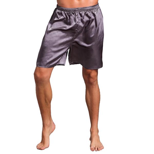Acquista Pantaloncini Pigiama Da Uomo Pigiama In Raso Da Uomo Pantaloni Casual Da Uomo Pantaloni Corti Morbidi Pantaloni Larghi Il Sonno Taglia M L XL